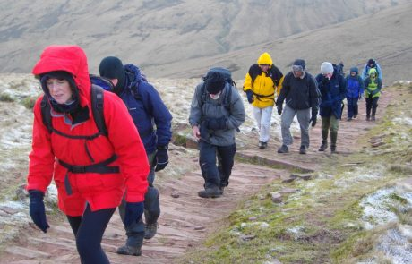 Members of Newport Outdoor Group on Endurance Route