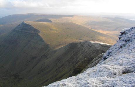 Looking east from summit of Pen y Fan (Endurance Route)