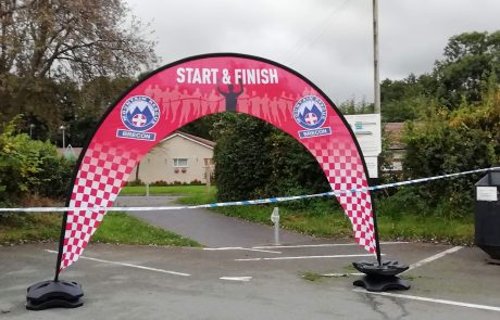 Beat The Beacons – Start & Finish Arch